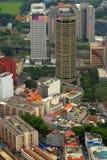 Immagine di riserva dell'orizzonte della città di Kuala Lumpur Immagine Stock Libera da Diritti