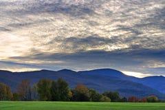 Immagine di riserva della campagna del Vermont Immagini Stock