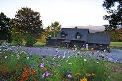 Immagine di riserva della campagna del Vermont Fotografie Stock