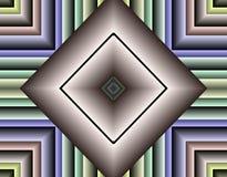 Immagine di riserva della geometria di frattalo illustrazione di stock