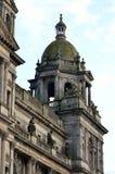Immagine di riserva delle camere della città in George Square, Glasgow, Scozia Fotografie Stock Libere da Diritti