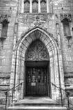 Immagine di riserva di vecchia architettura a Nottingham, Inghilterra fotografia stock libera da diritti