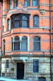 Immagine di riserva di vecchia architettura a Nottingham, Inghilterra fotografie stock