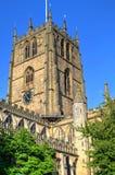 Immagine di riserva di vecchia architettura a Nottingham, Inghilterra immagini stock libere da diritti