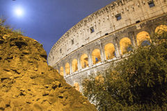 Immagine di Roma: il Colosseum maestoso Fotografia Stock