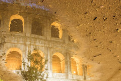 Immagine di Roma: il Colosseum maestoso Immagini Stock