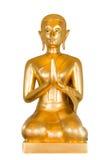 Immagine di seduta del Buddha sull'isolato su Fotografia Stock