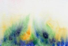 Immagine di sfondo astratta dell'acquerello Immagine Stock