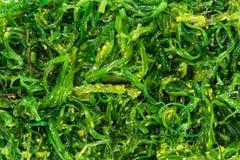 Immagine di sfondo dell'insalata del fuco Fotografia Stock Libera da Diritti