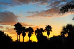 Immagine di sfondo di alba alla spiaggia Immagini Stock