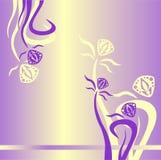 Immagine di sfondo per il sito Web, giallo, lillà Immagini Stock