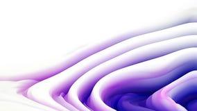 Immagine di sfondo porpora e bianca dell'ondulazione di curvatura royalty illustrazione gratis