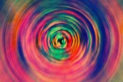 immagine di sfondo a spirale di colore pazzo fotografie stock libere da diritti