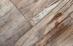 Immagine di sfondo di una superficie piana di legno bordi fotografie stock libere da diritti
