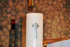Immagine di simbolo della candela Immagine Stock