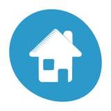 Immagine di simbolo di web di Home Page Immagini Stock