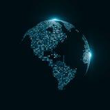 Immagine di tecnologia del globo Fotografia Stock Libera da Diritti