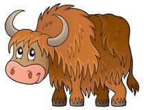 Immagine 1 di tema dei yak illustrazione vettoriale