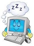 Immagine 2 di tema del computer Immagini Stock Libere da Diritti