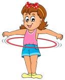 Immagine 3 di tema del gioco dei bambini Immagine Stock Libera da Diritti