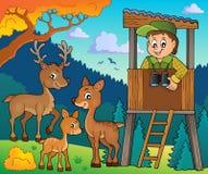 Immagine 2 di tema del silvicoltore illustrazione di stock