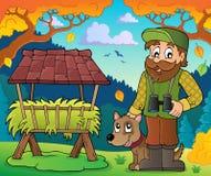 Immagine 6 di tema del silvicoltore royalty illustrazione gratis