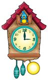 Immagine 1 di tema dell'orologio Fotografia Stock Libera da Diritti