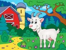 Immagine 4 di tema della capra royalty illustrazione gratis