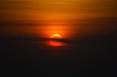 Immagine di tramonto Immagine Stock Libera da Diritti