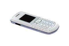Telefono cellulare semplice isolato su bianco Immagini Stock