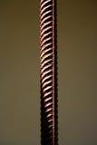 Immagine di una barra arrugginita del metallo della costruzione Fotografia Stock
