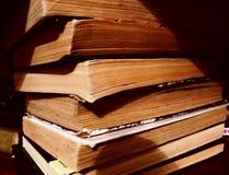 Immagine di una pila di libri Immagini Stock Libere da Diritti
