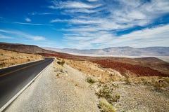 Immagine di una strada del deserto Immagini Stock Libere da Diritti