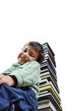 Immagine di uno scolaro Fotografia Stock