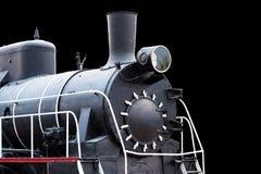 Immagine di vecchio primo piano locomotivo Immagine Stock Libera da Diritti