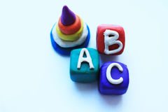 Immagine di vettore dei giocattoli dei bambini Fotografia Stock