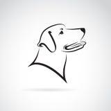 Immagine di vettore di un cane labrador illustrazione vettoriale