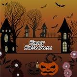 Immagine di vettore Halloween Fotografia Stock