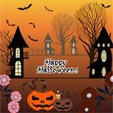 Immagine di vettore Halloween Immagine Stock Libera da Diritti