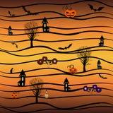 Immagine di vettore Halloween Immagini Stock Libere da Diritti