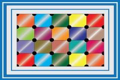 Immagine di vettore di progettazione della scatola dei colori illustrazione vettoriale