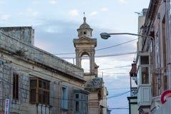 Immagine di vista della via di Malta, La Valletta fotografie stock libere da diritti