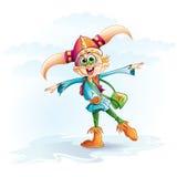 Immagine divertente di un ragazzo di Viking Immagine Stock