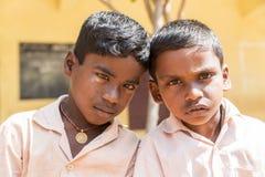 Immagine documentaria editoriale, ritratti degli studenti della scuola Fotografie Stock Libere da Diritti