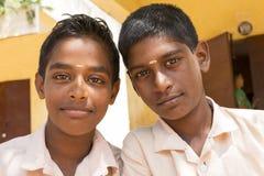 Immagine documentaria editoriale, ritratti degli studenti della scuola Fotografie Stock