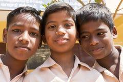 Immagine documentaria editoriale, ritratti degli studenti della scuola Immagini Stock Libere da Diritti