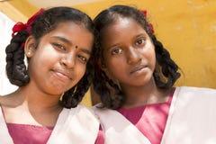 Immagine documentaria editoriale, ritratti degli studenti della scuola Fotografia Stock