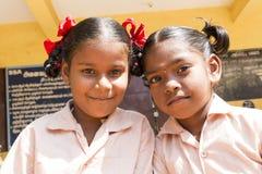 Immagine documentaria editoriale, ritratti degli studenti della scuola Immagini Stock