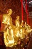 Immagine dorata del buddha fotografia stock libera da diritti