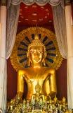 Immagine dorata di Buddha Fotografia Stock Libera da Diritti